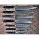 nůž Slice / Sashimi 210 mm Kanetsugu PRO-M Saiun VG-10 Damascus