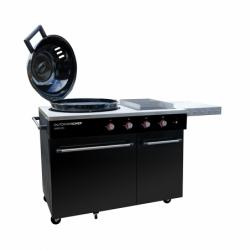 kotlový plynový gril LUGANO 570 G s 2 hořáky a technologií EASY FLIP