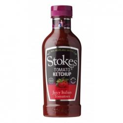 kečup STOKES z italských rajčat 411ml