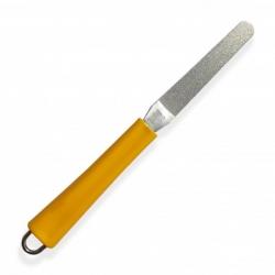 pilník diamantový, flexibilní - žlutý