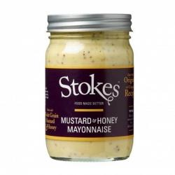 majonéza s hořčicí a medem Stokes Mustard & Honey Mayonnaise 360ml