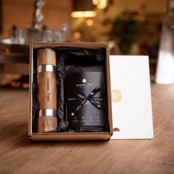 Kampotský pepř - Sada DUOMILL s mlýnkem v dárkové krabičce s 3x50g pepře