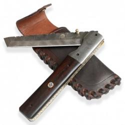 lovecký zavírací damaškový nůž Dellinger TANTO LENGE - bazar