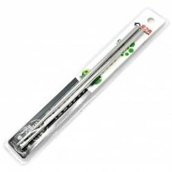 jídelní hůlky nerezové, 23cm