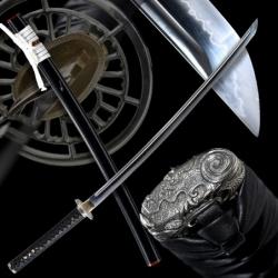 Mokuhyō Japanese Sword - T-10 Steel, Yokote - Choji Hamon