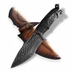 BAZAR nůž lovecký Dellinger HORNED vg-10 Ebony