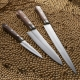 nůž Santoku 165 mm - Suncraft - SENZO CLAD