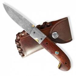 Lovecký zavírací damaškový nůž Dellinger SISSO Sentinell