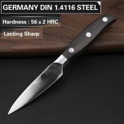 """nůž Paring 3,5"""" ( 92 mm ) Dellinger CLASSIC Sandal Wood"""