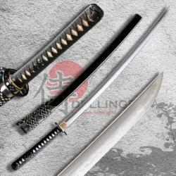 Kōun Japanese Sword - T-10 Steel, Yokote - Choji Hamon
