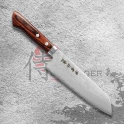 nůž Santoku 165 mm Kanetsune Forged VG-1 Damascus blade