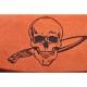 kožená taška na kuchyňské nože Dellinger Skull