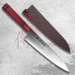 "nůž Gyutou/Chef 210 mm Kanetsune Damascus ""Minamo-Kaze"" series"
