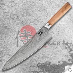 """nůž kuchařský/Chef 9"""" (230mm) SOK Olive Sunshine"""