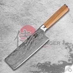 """nůž na zeleninu NAKIRI 7"""" (175mm) SOK Olive Sunshine"""