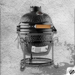 """keramický gril kamado Dellinger Smoke&Fire 13"""" černý"""