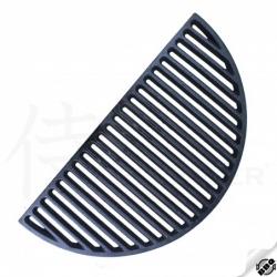 """rošt litinový půlměsíc - oboustranný pro gril 22"""" a 23,5"""" 500x250 mm"""