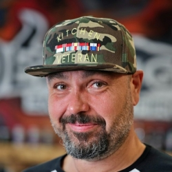 kšiltovka Kitchen Veteran - Flexfit Army