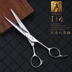 """Kadeřnické nůžky 6"""" TITAN MJJ60 ACRM Profesional"""