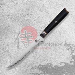 """Japonský kuchařský vykošťovací nůž 6"""" (145mm) Dellinger Okami 3 layers AUS10"""