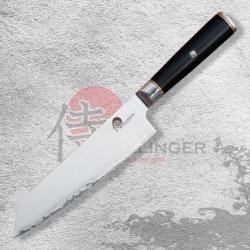 """Japonský kuchařský nůž Kiritsuke Chef 8"""" (200mm) Dellinger Okami 3 layers AUS10"""