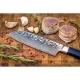 "nůž SANTOKU 7"" (170 mm) Dellinger Tsuchime Professional Damascus"