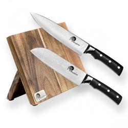 Mistrovská sada 2 nožů Tiny Wave s magnetickým držákem