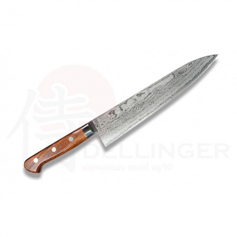 Japonský damaškový nůž KIYA 49 layers Gyuto / Chef