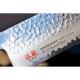 Santoku 167mm-Suncraft Senzo Classic-Damascus-japonský kuchyňský nůž-Tsuchime- VG10–33 vrstev