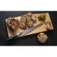 Bread (nůž na chléb a pečivo) 220mm-Suncraft Senzo Classic-Damascus-japonský kuchyňský nůž-Tsuchime- VG10–33 vrstev