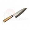 Deba 165 mm-Suncraft Senzo Bamboo-High carbon-japonský kuchyňský nůž