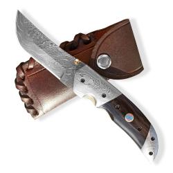 Lovecký zavírací damaškový nůž Dellinger SIGRUN Tanto