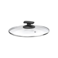 Skleněná poklička Ø 24 cm s parním ventilem pro teploty do 180°C