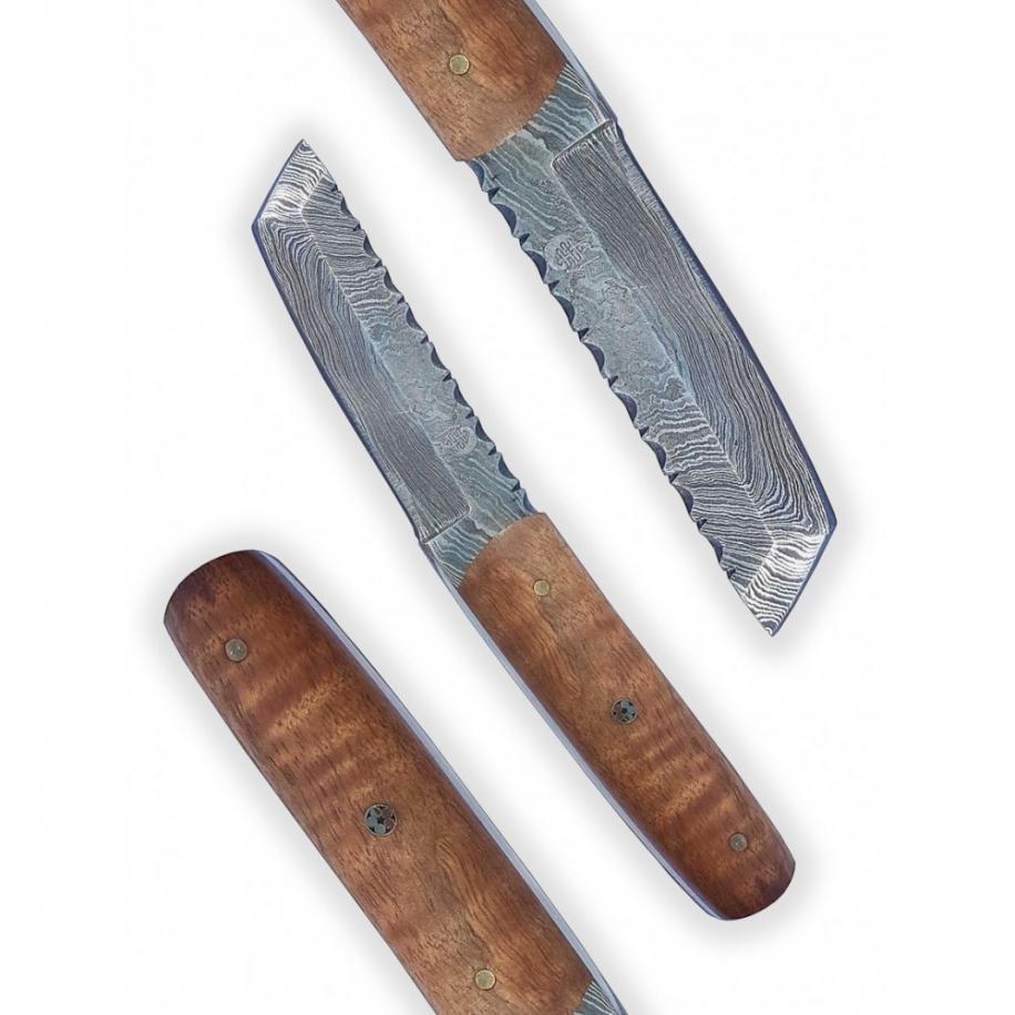 nůž Dellinger Damask miniTanto Walnut