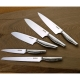 nůž Santoku 180mm - Suncraft MOKA, japonský kuchyňský nůž