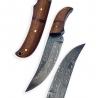 nůž Dellinger Damask Skinner Mahagony