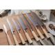 nůž Sashimi 210 mm Suncraft Senzo Twisted Octagon Damascus