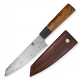 nůž Dellinger Damascus Japan Sky