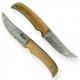 nůž Dellinger Skinner Damask Birch Wood