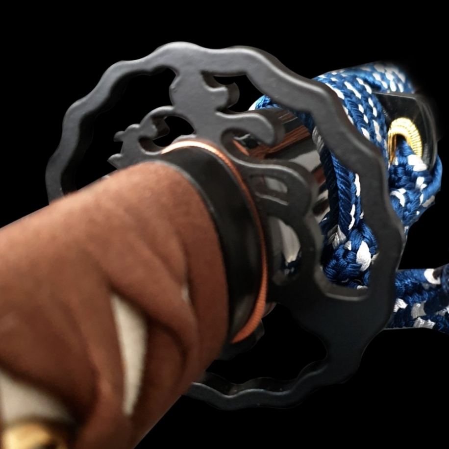 Kawanishi Japanese Sword - Clay Tempered L6 Steel