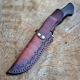 nůž lovecký Dellinger CLASSIC Chad Nichols Damascus
