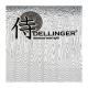 """Kiritsuke / Chef 8"""" (200mm) Dellinger LADDER-Yellow s kravičkou"""
