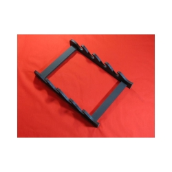 stojan závěsný na čtyři meče - černý, matný