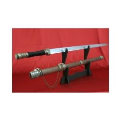 Čínský meč od firmy Kawashima s imitací hamonu,nebroušený.