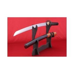 Wakizashi IWADE ručně kované z oceli AISI 1095 s reálným hamonem