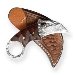 nůž Dellinger TSUME karambit vg-10 Damascus