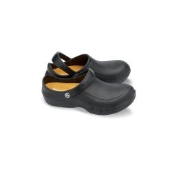 e.s. S1 Kuchařská obuv Ezi-Protekta Toffeln pánská i dámská - barva černá