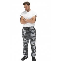 Denny's Le Chef kuchařské kalhoty pánské i dámské - barva camouflage