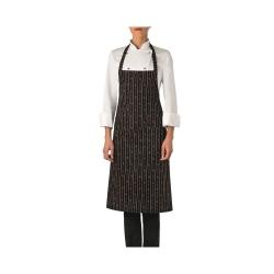 zástěra kuchařská s laclem Giblor´Red Chilli