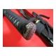 Katana UTSUKUSHI s certifikátem, reálný hamon, ocel T10, saya černá lesklá